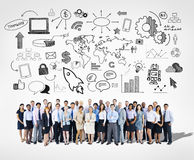Large group of Business team Royalty Free Stock Photo