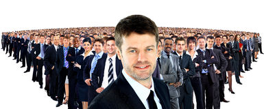 Large group of businesspeople Royalty Free Stock Photography