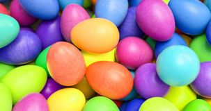 Large group of different Colorful Easter eggs Royalty Free Stock Photos