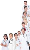 Large group of doctors and nurses Royalty Free Stock Photography