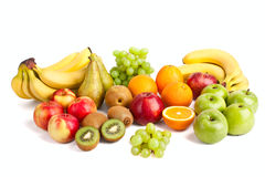 Large group of fruits Stock Photos