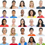 Large Group of Multi Ethnic Group Stock Photos