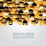 Large group of people Royalty Free Stock Images