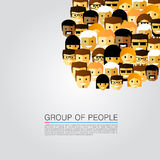 Large group of people Stock Images