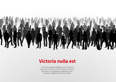 Large group of people background Stock Image