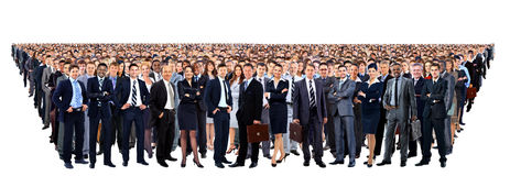 Large group of people Stock Photos