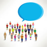 A large group of people gather design. A large group of people gather together icon design vector illustration