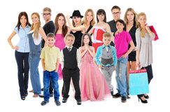 Large group of people Stock Photography