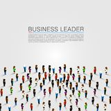 A large group of people. Vector background illustration Stock Photo