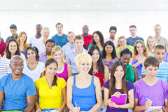 The Large Group of Student in The Lecture Hall Stock Image