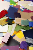 Colorful Torn Paper Background Royalty Free Stock Photos