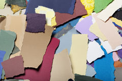 Colorful Torn Paper Background Stock Photos