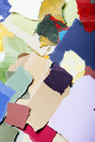 Colorful Torn Paper Background Royalty Free Stock Photo