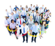 Large Group of World Business People Stock Images