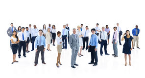 Large Group of World Business People Royalty Free Stock Images