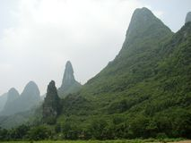 Large Guilin Vista Stock Images