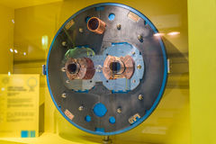The large hadron collider Stock Photography