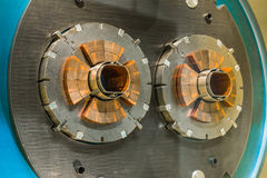 The large hadron collider Royalty Free Stock Photos