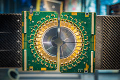 The large hadron collider stock image