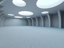 A large hall Royalty Free Stock Photo