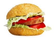 Large hamburger Royalty Free Stock Images
