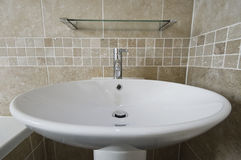 Large hand wash basin Royalty Free Stock Photos