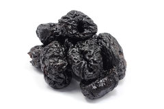 Large handful of prunes Royalty Free Stock Image