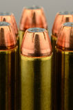 Large Handgun Bullet Royalty Free Stock Photography