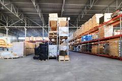 Large hangar warehouse industrial and logistics companies. Stock Photography