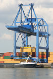 Large Harbor Crane Royalty Free Stock Photo
