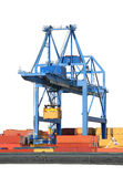 Large Harbor Crane Stock Photos