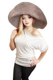 Large hat Stock Photos