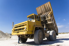 Large haul truck Stock Photography