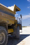 Large haul truck. Ready for big job in a mine Stock Images