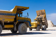Large haul truck Royalty Free Stock Photo