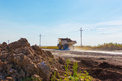 Large haul truck Stock Photo