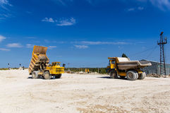 Large haul truck Stock Photos
