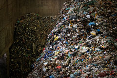 Large heap of garbage Royalty Free Stock Photography