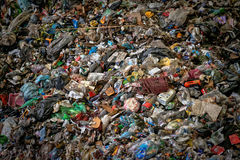 Large heap of garbage Royalty Free Stock Image