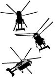 Large helicopters Royalty Free Stock Images