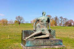 Large Henry Moore sculpture. Royalty Free Stock Photography