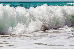 Large high wave on the Black Sea Royalty Free Stock Image
