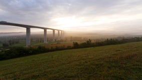Large highway viaduct ( Hungary) Stock Photo