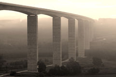 Large highway viaduct ( Hungary) Stock Photo