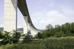Large highway viaduct Royalty Free Stock Photo