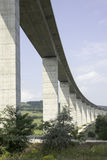 Large highway viaduct Royalty Free Stock Image