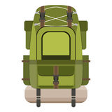 Large hiking backpack Stock Photography