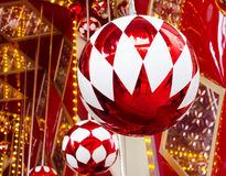 The large holiday balls Royalty Free Stock Photos