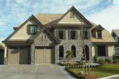 Large Home House Design BC Royalty Free Stock Images