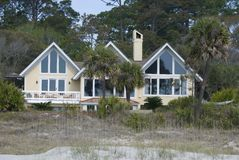 Free Large Home On Beach Royalty Free Stock Images - 4855989